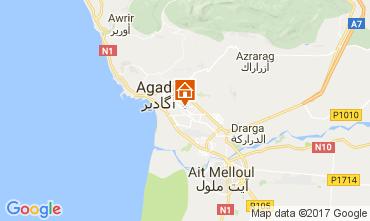 Mapa Agadir Apartamentos 29452