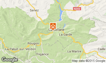 Mapa Castellane Apartamentos 72835