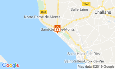Mapa Saint Jean de Monts Estúdio 118691