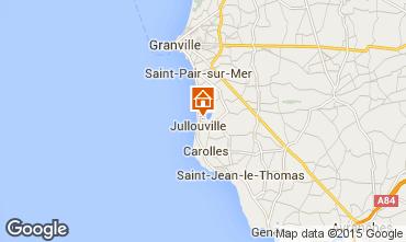 Mapa Jullouville Vivenda 72677