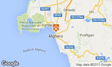 Mapa Alghero Apartamentos 84156