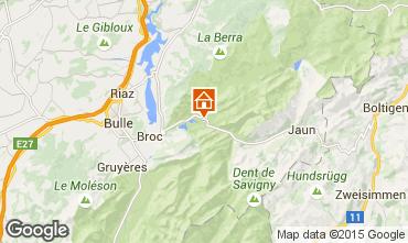 Mapa Charmey Chalé 72762