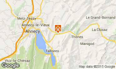 Mapa Annecy Chal� 845