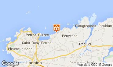 Mapa Perros-Guirec Casa de turismo rural/Casa de campo 83929