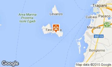 Mapa Favignana Vivenda 93109