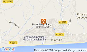Mapa Islantilla Casa 45306