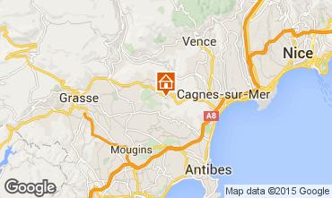 Mapa Roquefort-les-Pins Casa de turismo rural/Casa de campo 83734