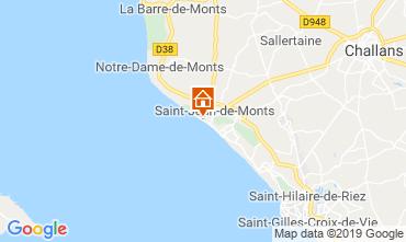 Mapa Saint Jean de Monts Apartamentos 51553
