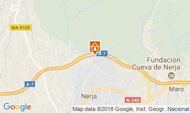 Mapa Nerja Apartamentos 115997