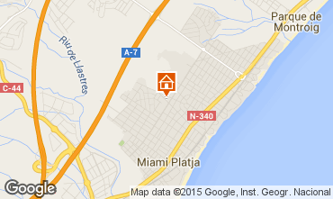 Mapa Miami Playa Vivenda 88948