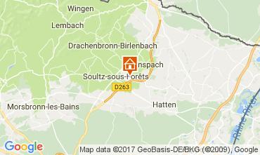 Mapa Estrasburgo Casa de turismo rural/Casa de campo 81456