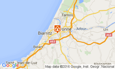 Mapa Biarritz Casa 96696