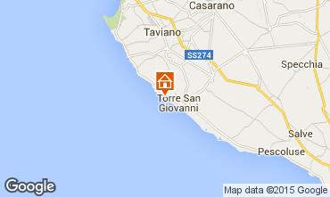 Mapa Ugento - Torre San Giovanni Vivenda 97462