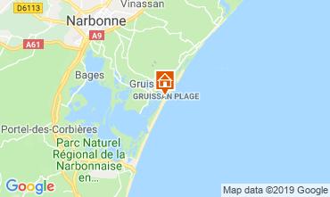 Mapa Gruissan-Plage Chal� 102261