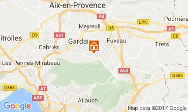 Mapa Marselha Apartamentos 112426