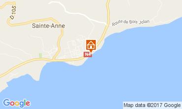 Mapa Sainte Anne (Guadalupe) Apartamentos 73124