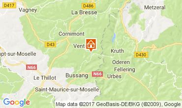Mapa Ventron Chalé 112488