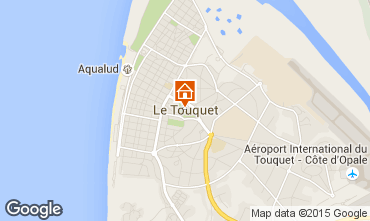 Mapa Le Touquet Apartamentos 66471