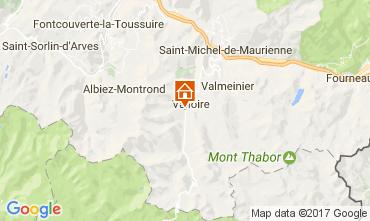 Mapa Valloire Casa de turismo rural/Casa de campo 108351