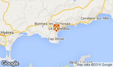 Mapa Bormes Les Mimosas Apartamentos 102267