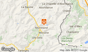 Mapa Morzine Chalé 67065