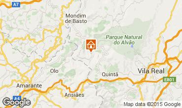 Mapa Mondim de Basto Casa de turismo rural/Casa de campo 84160