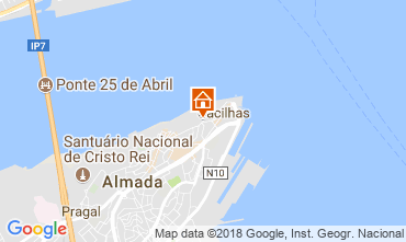 Mapa Almada Apartamentos 115083
