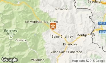 Mapa Serre Chevalier Chalé 15369