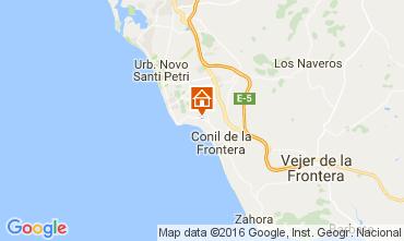 Mapa Conil de la Frontera Vivenda 104290