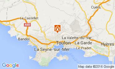 Mapa Toulon Casa de turismo rural/Casa de campo 79569