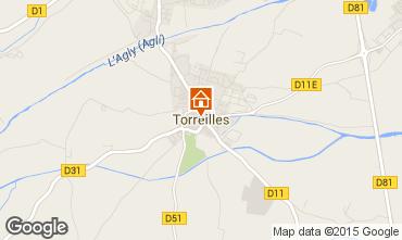 Mapa Torreilles Vivenda 98291