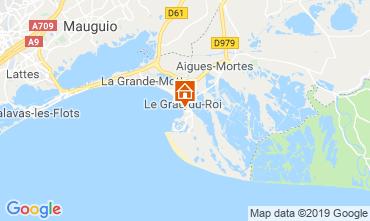 Mapa Le Grau du Roi Apartamentos 82195