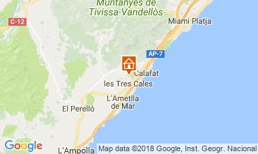 Mapa La Ametlla de Mar Casa 114254