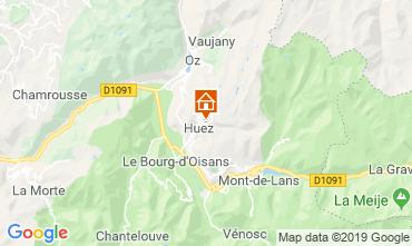 Mapa Alpe d'Huez Apartamentos 117531
