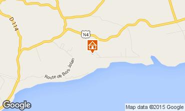 Mapa Sainte Anne (Guadalupe) Casa de turismo rural/Casa de campo 60311