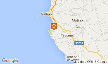 Mapa Gallipoli Vivenda 95969