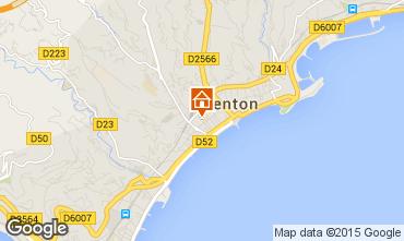 Mapa Menton Apartamentos 5403
