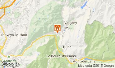 Mapa Alpe d'Huez Apartamentos 65901