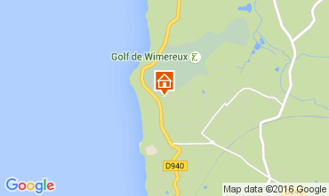 Mapa Wimereux Apartamentos 8918