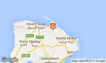 Mapa Djerba Vivenda 9886