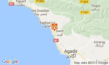 Mapa Tamraght Apartamentos 106548