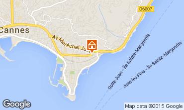 Mapa Cannes Apartamentos 39310