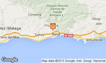 Mapa Nerja Casa de turismo rural/Casa de campo 65400