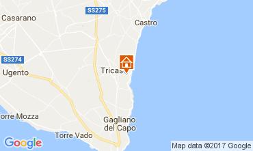 Mapa Tricase Vivenda 87119