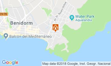 Mapa Benidorm Apartamentos 116824