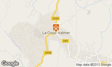 Mapa La Croix Valmer Apartamentos 10280