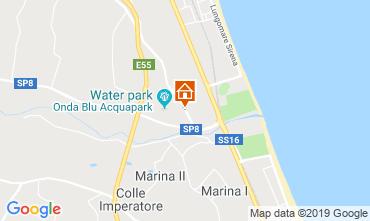 Mapa Tortoreto Apartamentos 119599