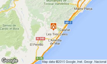 Mapa La Ametlla de Mar Chal� 89245