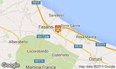 Mapa Fasano Casa de turismo rural/Casa de campo 66340
