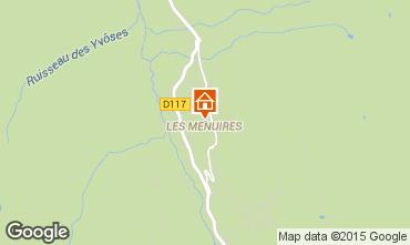 Mapa Les Menuires Apartamentos 76105
